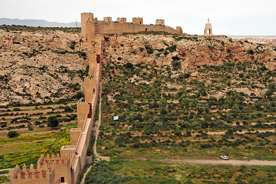 Alcazaba in Almeria