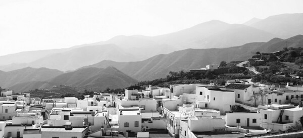 Felix, a mountain village near Almeria
