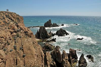 Cabo de Gata national park near Almeria