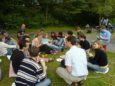 Barbeque in the Rheinauen