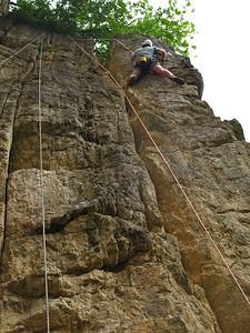 Climbing at Bochumer Bruch