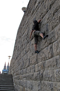 Climbing in Cologne