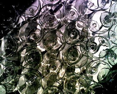 Yet empty glasses...