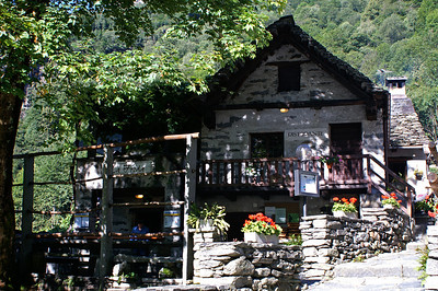 Foroglio - one of the most charming villages in Tessin