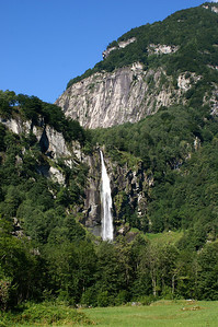 Waterfall at Foroglio