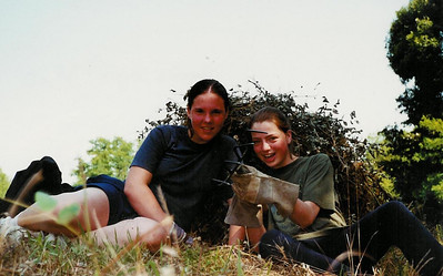 Kim and me during a Round Square Environmental Project in Boronka, Hungary