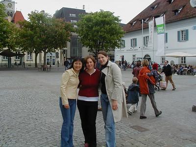 Yi, Carina and I