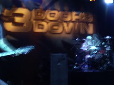 3 doors down concert in Stuttgart
