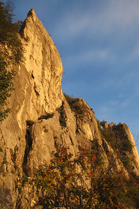 Climbing at Napoleonica near Trieste