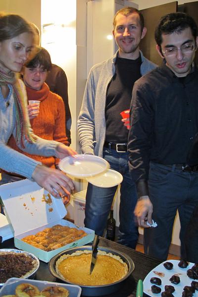 Thanksgiving in Trieste