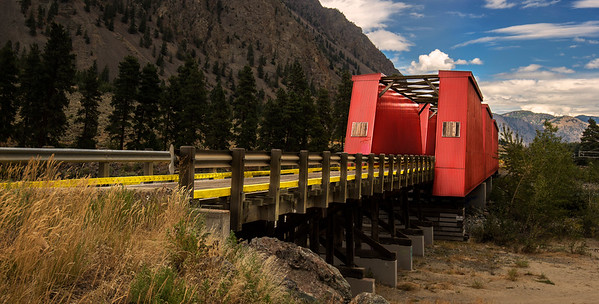 Red Bridge of Keremeos