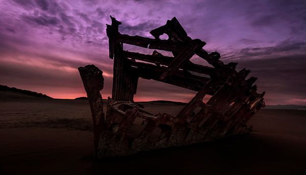 Wreck of Peter Iredale II