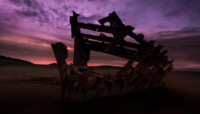 Wreck of Peter Iredale II