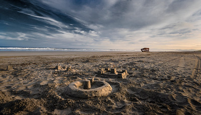 And so castles made of sand