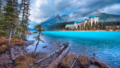 Dreamy Chateau Lake Louise