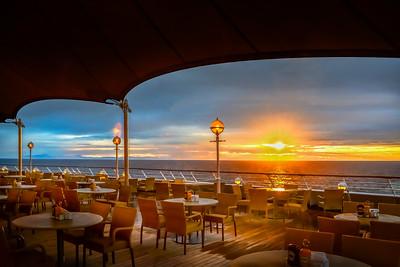 Sea Cruise Sunrise