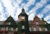 Duesseldorf  old town Rathaus (City Hall), North Rhine Westphalia,  Germany, Europe.