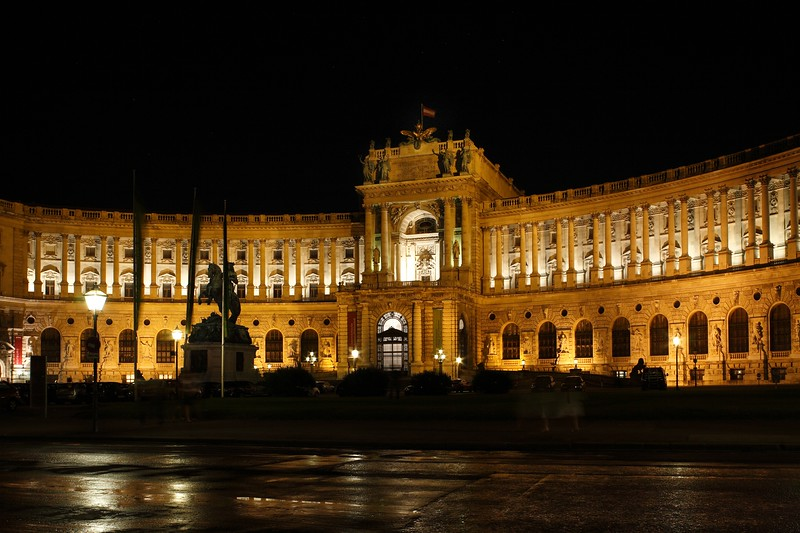 Hofburg Imperial Palace, Vienna, Austria, Europe.
