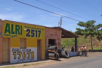 A small auto repair shop, Ceara, Brazil, South America.