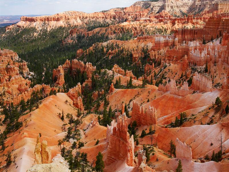 Inspiration Point, Bryce Canyon National park, Utah, USA.
