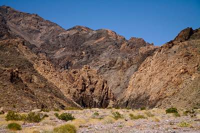 The entrance to the Echo Canyon in Funeral Mountains, Death Valley National Park, California and Nevada, USA.