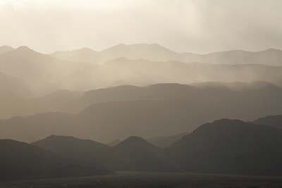 Panamint Range after a storm Death Valley National Park, California and Nevada, USA. The picture was taken from Stovepipe Wells Village.