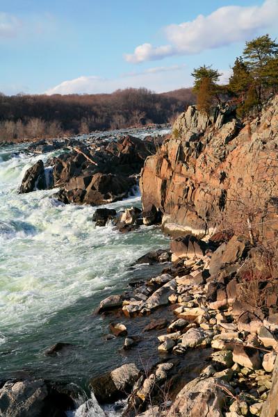 The Great Falls of the Potomac, Great Falls National Park, Maryland, Virginia, USA.