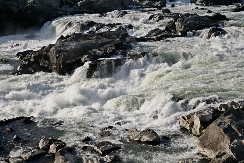 The Great Falls of the Potomac, Great Falls National Park, Maryland, Virginia, USA.
