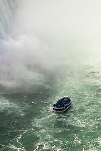 Maid of the Mist near Niagara Falls, Ontario, Canada