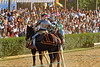 Knights battling on horseback at Renaissance Festival, Crownsville, Maryland, USA