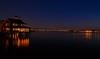 Night view of San Diego - Coronado Bay Bridge.