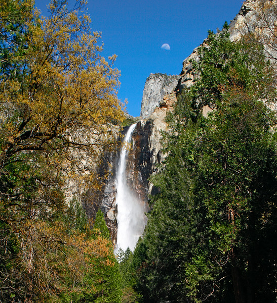 Bridalveil Fall, Yosemite National Park, California, USA