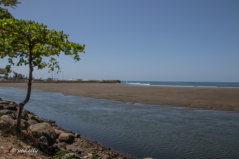 The next few images are of the beach area by Quepos