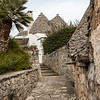 Path through the Trulli.