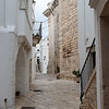 "Locorotondo is one of Italy's ""white"" villages, brilliantly whitewashed."