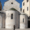 Chiesa della Vallisa, Back view.  Simple and symetrical.