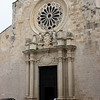 Otranto is an old harbor town ,  This cathedral was started in the 11th century and was coninuously rebuilt.