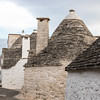 Classic Trulli are completely stone, originally without mortar.