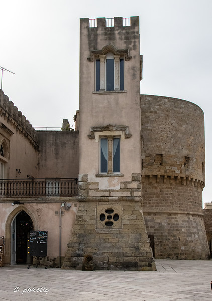 Many of these old towns have extensive walls and towers.  This one seems well used today.