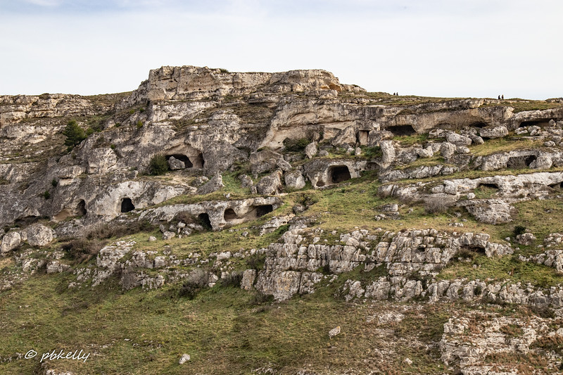 Caves in the hillside outside the town.