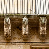 How they hold up balconies in Lecce!  Blow up  the horses to see the facial expressions.