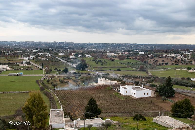 View from Locorotondo.