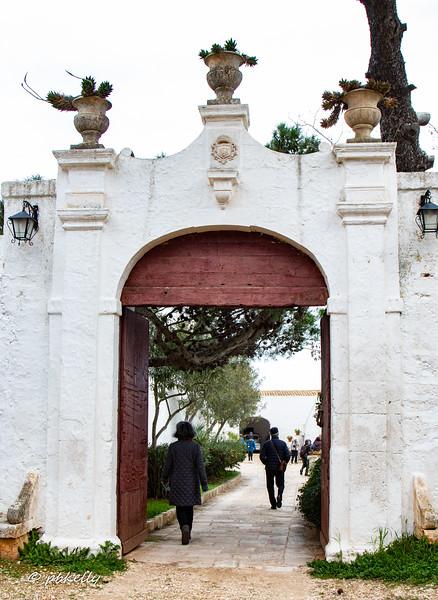 Gateway to the Masseria Brancati