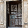 Door to the Chiesa del Carmine in Matera.  This was a different style.