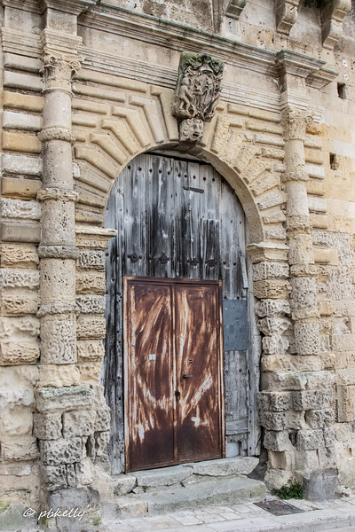 Interesting aging on this door in  Matera
