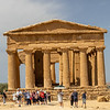 Temple of Concordia.  The only one mostly restored.