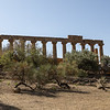 Temple of Hera in Agrigento.  Dated about 450 BC