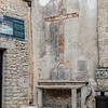 Shrine on the outside of the Chiesa san Domenico