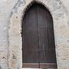Very simple door on the Duomo.