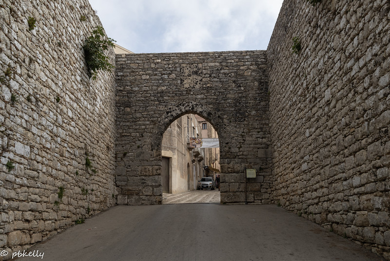 092421.  Trip to Erice,  a Medieval hill town.